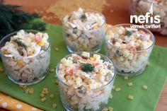 Tavuklu Yoğurtlu Makarna Salatası Tarifi – Doyurucu nefis bir salata