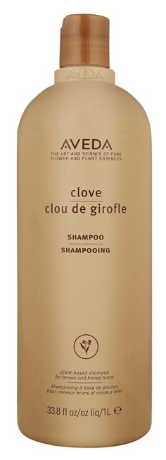 Aveda - Clove Shampoo. The smell is incredible and makes hair look and feel beautiful! LOVE this stuff!