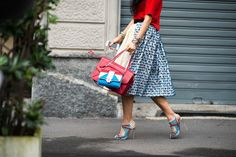 On the Streets of Milan Fashion Week Fall 2014  -