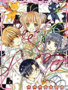 Card Captor Sakura. Clamp. CCS mobile games