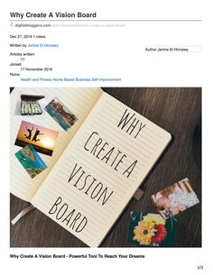 Why Create A Vision Board