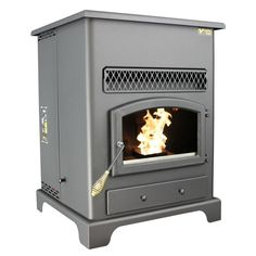 Visit The Home Depot to buy US Stove sq. Golden Eagle Pellet Stove with Igniter 5520 Pellet Heater, Wood Pellet Stoves, Us Stove Company, Wood Furnace, Multi Fuel Stove, Wood Pellets, Stainless Steel Tubing, Electric Stove, Modular Homes