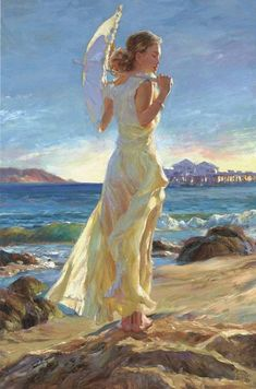 Vladimir Volegov`s painting. superb colors, and feel.