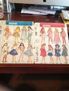 #2 Vintage Wardrobe Pattern For Skipper /& Scooter