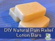 How to Make Pain Relief Lotion Bars - These work well, i was very skeptical until I gave them a try & now I make 12 bars at a time & keep them wrapped in cheesecloth in the fridge until I need them. Perfect gift for older RA sufferers. My Vets love these as small gifts from me.