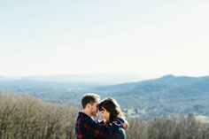 Ariele + Justin. Asheville + Blue Ridge Parkway. Engagement » Blog | Brett & Jessica – North Carolina Wedding Photographers