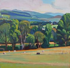 A Painter's Year: Sheep and Trough, Summer Morning