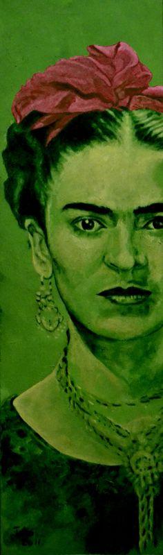 Frida Kahlo - laço vermelho