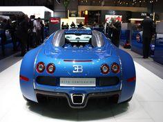 Bugatti Veyron Bleu 2013