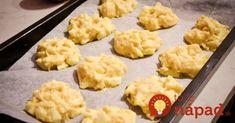Výborné zdravé sušienky, pripravené za pár minút. Navyše, neobsahujú žiadnu múku ani cukor, sú zdravé a môžete si dať pokojne aj na diéte! Biscotti, Mashed Potatoes, Cauliflower, Macaroni And Cheese, Good Food, Cheddar, Cookies, Baking, Vegetables