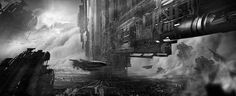 If you like science-fiction you will probably love the works ofJuan PabloRoldan. Indeed, this 30 year-old Colombian artist is the author of impressive futuristic illustrations where spaceships, giant cities and soldiers are legion. As usual we invite you to see more digital paintings on his blog and his CGHub.