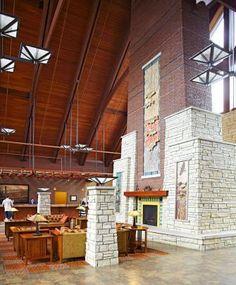 Great state park stay at Iowa's Honey Creek Park: http://www.midwestliving.com/travel/iowa/national-parks-state-parks/great-state-park-stays-iowas-honey-creek-resort