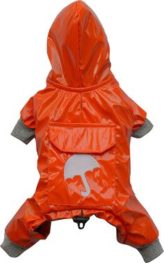 DoggyDolly Authentic Hooded Raincoat * Find out more details by clicking the image : Dog coats