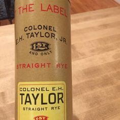 This is the first bottle of EH Taylor Rye I've owned. This is a great balanced rye with the spicy rye notes being ver smooth and balanced with sweetness and oak. #rye #ehtaylor #ehtaylorrye #whiskey