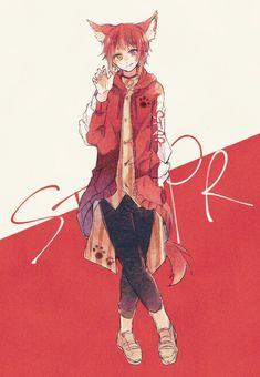 Kawaii Anime, Cute Anime Chibi, Cute Anime Boy, All Anime, Manga Anime, Anime Art, Cute Boy Drawing, Anime Wolf Girl, Reborn Katekyo Hitman