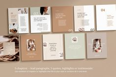 ELEGANT is a professional CANVA or INDESIGN multipurpose eBook or magazine template with unique pages available in US letter and sizes. Picture Layouts, Grid Layouts, Indesign Templates, Graphic Design Studios, Cover Pics, Magazine Template, Picture Collection, Picture Link, Social Media Design