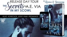 #ReleaseTour #Review  ? The Secrets in My Scowl by A.E. Via + Giveaway