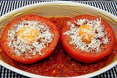 Eier im Tomatenhaus