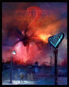 Stranger Things 2 | Cliff Cramp - Follow Artist on Facebook // Tumblr // Instagram // Twitter More Stranger Things Related Artworks