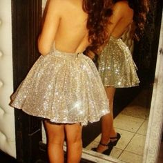 sparkling dress. All I need is the right fabric and make a simple circle skirt and make it an infinity dress!