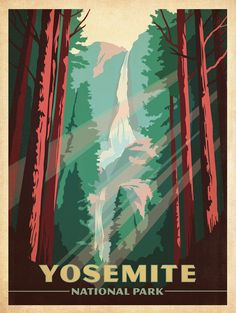 Classic American Travel Posters | GBlog