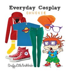 Everyday Cosplay – Scruffy Little Nerd Herder Cosplay Diy, Casual Cosplay, Cosplay Costumes, Group Costumes, Diy Costumes, Chuckie Rugrats, Rugrats Costume, Cartoon Outfits, Anime Outfits