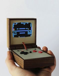 Love Hulten Unveils Two Gloriously Retro Gaming Machines  Swedish craftsmanship meets Nintendo.