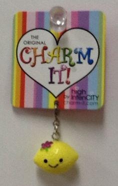 Lemon Charm: $4.99.  For more information or to check availability, call or email Polka Dots. 916-791-9070. polkadotsproshop@gmail.com
