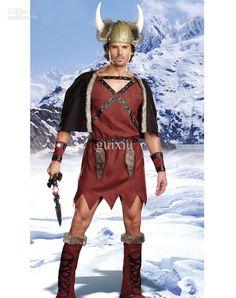 Wholesale Sexy Women's Halloween Costume Viking Warrior Costume Men H39220, $18.3 | DHgate.com