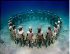The Underwater Sculpture Park
