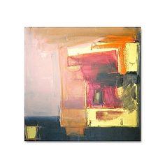 Large Abstract Acrylic Painting Original Fine por linneaheideart