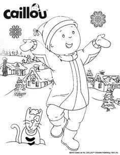 144 Best Caillou Activities & Printables! images in 2017