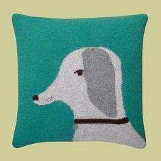 fuchs & fjonka - donna wilson dog cushion