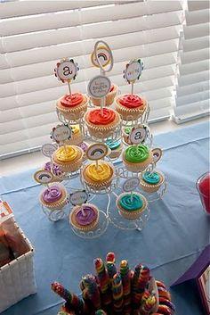 The TomKat Studio: {Sweet Customers} Fabulous Rainbow Birthday Party!