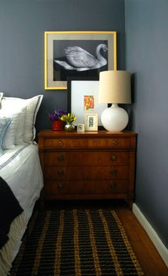 Check out this post from Blogger Jenny, of Little Green Notebook, to learn her favorite DIY painting tips and tricks for any home remodeling project. Jenny used a coat of Silver Drop to lighten up the dark gray walls in her master bedroom.