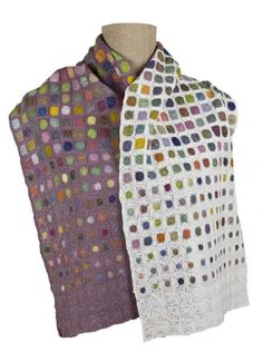 Sophie Digard crochet Crochet Circles, Granny Square Blanket, Crochet Art, Crochet Accessories, Crochet Scarves, Beautiful Crochet, Printmaking, Blankets, Needlework