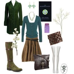 """Tolkien - Modern Nandorin Elf"" by domes-and-towers on Polyvore"