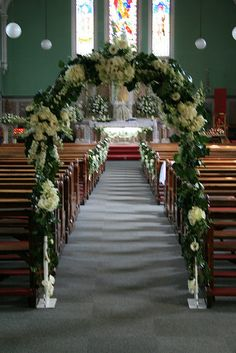 """Wedding Arch - check out free """"under the flowers"""" for the flower foam used. Wedding Ceremony Arch, Indoor Ceremony, Indoor Wedding, Wedding Bride, Gold Wedding, Wedding Arches, Wedding Girl, Trendy Wedding, Wedding Dresses"""
