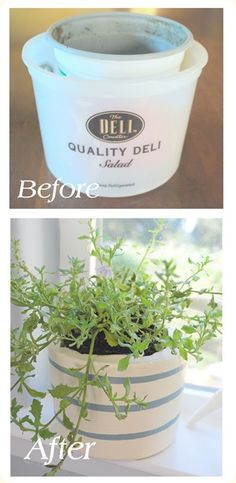 DYI cement planters! Cool! Lets see, what can I use to make really large planters??