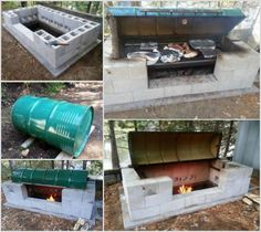 How to Make Metal Drum BBQ Pit