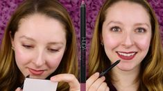 HUDA BEAUTY LIP CONTOUR MATTE PENCIL REVIEW | TROPHY WIFE - YouTube