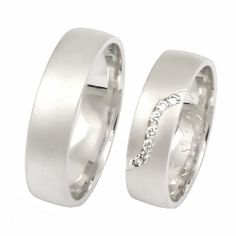 Gold Brilliant Wedding Rings