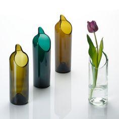 Carafe Re.use en verre recyclé - Cadeaux sur IdéeCadeau.fr
