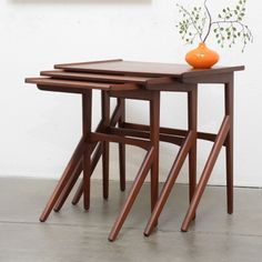 ON SALE Mid Century Danish GPLAN Nest Of Tables. $200.33, Via Etsy. |  Design   Products For Home | Pinterest | Mid Century, Tables And Nest