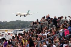 Pope Francis' Visit to America, in Pictures - The New York Times ~ Pope Francis' chartered Alitalia plane approaching Joint Base Andrews in Maryland on Tuesday, September 22, 2015 <3  <3