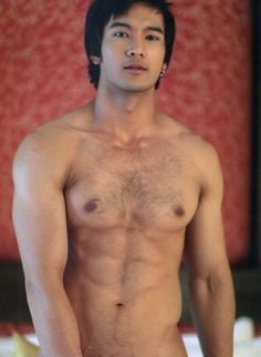 Hairy Asian Man 26