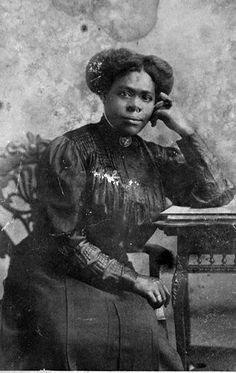 Mary McLeod Bethune, who founded the Daytona Normal and Industrial School for Negro Girls, now Bethune-Cookman College, in Daytona Beach. Circa 1910.