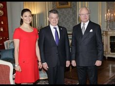 King Carl Gustaf and Princess Victoria Meet President of Colombia at Royal Palace King Carl Gustaf and Princess Victoria Meet President of Colombia at Royal Palace King Carl XVI Gustaf of Sweden and Crown Princess Victoria of Sweden met with Colombia's President Juan Manuel Santos at the Royal Palace on December 12 2016 in Stockholm Sweden. Colombian President Juan Manuel Santos was awarded this year's Nobel Peace Prize for his efforts to bring Colombias more than 50-year-long civil war to…