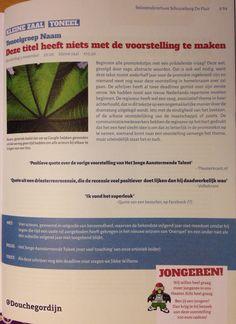 Seizoensbrochure Schouwburg De Fluit: hilarisch! Daan Windhorst heeft het goed begrepen.