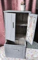 Ideas para decoración: Mueble de papel reciclado   Ideas para Decoracion